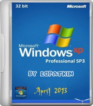 MICROSOFT WINDOWS XP PROFESSIONAL x32 SP3 BY LOPATKIN (2013) �������
