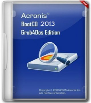 ACRONIS BOOTCD COLLECTION 2013 GRUB4DOS EDITION 11 IN 1 V.7 (05.2013) (2013) РУССКИЙ