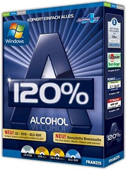 Alcohol 120% 2.0.2 Build 4713 Final RePack by KpoJIuK + RePack by D!akov