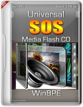 UNIVERSAL SOS-MEDIA FLASH-CD-HDD TOP BOX WIN8PE VI-XIII BY LOPATKIN (2013) РУССКИЙ