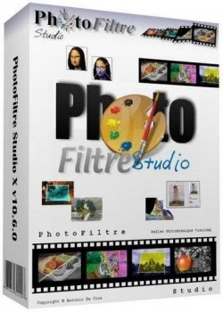 PhotoFiltre Studio X 10.8.0 (2013) + Portable
