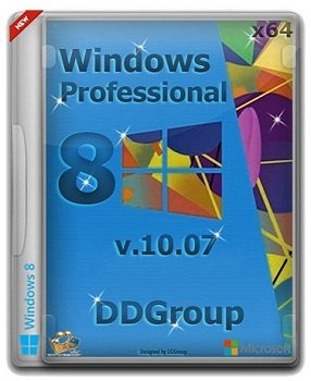 Windows 8 Pro vl x64 [ v.10.07 ] by DDGroup (2013) �������