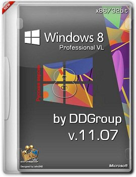 Windows 8 Pro vl x86 [ v.11.07 ] by DDGroup (2013) �������