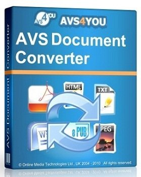 AVS Document Converter 2.2.7.222 (2013) Русский