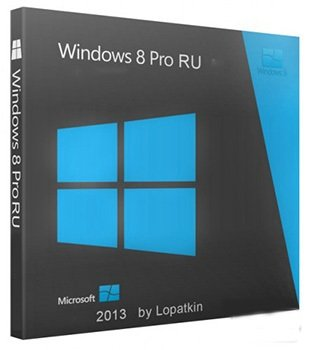 Microsoft Windows 8 Pro VL x64 RU Lite & Sm 130722 by Lopatkin (2013) Русский