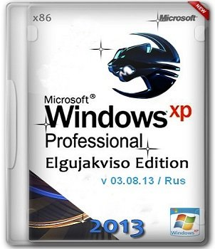 Windows XP Pro SP3 x86 Elgujakviso Edition (v03.08.13) Русский