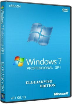 Windows 7 Professional SP1 x86/x64 Elgujakviso Edition (v01.09.13) �������