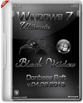 Windows 7 Ultimate SP1 x86 by Donbass Soft v.4.09.13 (2013) �������