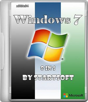 Windows 7 SP1 USB StartSoft v.38 (x86 x64) [2013] Русский