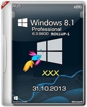 Microsoft Windows 8.1 Pro VL 6.3.9600 �86 RU xxx by Lopatkin (2013) �������