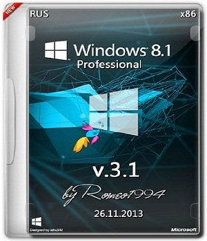 Windows 8.1 Professional (x86) v.3.1 by Romeo1994 (2013) Русский