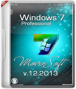 Windows 7 Professoinal SP1 x86/x64 by MoverSoft v.12.2013 (2013) �������