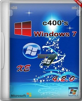 Windows 7 XE (х86/х64) v.4.2.0 by c400's (2013) Русский