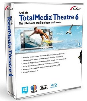 Arcsoft TotalMedia Theatre 6.5.1.150 (2013) Русский