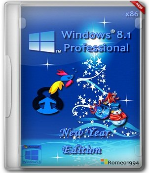 Windows 8.1 Professional x86 New Year Edition by Romeo1994 (2013) Русский