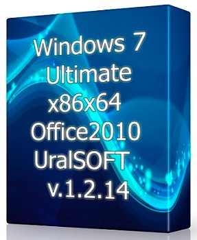 Windows 7 Ultimate (x86x64) & Office2010 UralSOFT v.1.2.14 (2014) Русский
