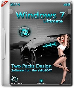 Windows 7 SP1 Ultimate x86 by YelloSOFT (2014) Русский