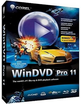 Corel WinDVD Pro 11.6.1.9.301012 RePack by KpoJIuK (2014) Русский