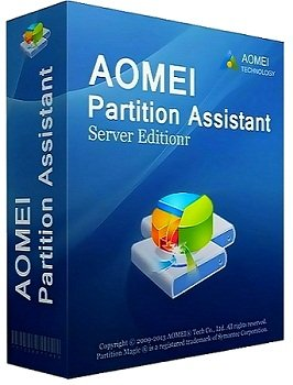 AOMEI Partition Assistant Server Edition v5.5 Retail + BootCD WinPE (2014) Русский