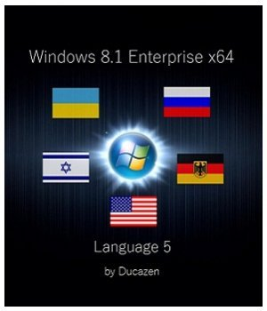 Windows 8.1 Enterprise x64 Language 5 by Ducazen (2014) Русский