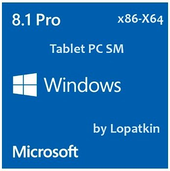 Windows 8.1 Pro x86-X64 VL 6.3.9600.16610.WINBLUES 14 Tablet PC SM by Lopatkin (2014) Русский