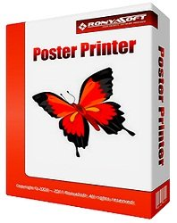 RonyaSoft Poster Printer 3.01.36 (2014) Русский
