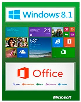 Windows 8.1 x86-x64 Enterprise + Office2013 New Trend 1.0 (2014) Русский