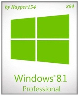 Windows 8.1 Professional x64 v.6.3.9600 by Hayper154 v.1 (2014) Русский