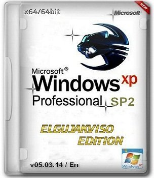Windows XP Pro x64 SP2 Elgujakviso Edition v05.03.14 (2014) Англиский, Русский
