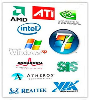 Windows XP & 7 Drivers x32-x64 Update 08.03.2014 (2014) Русский