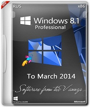 Windows 8.1 x86 Professional Vannza to March (2014) Русский