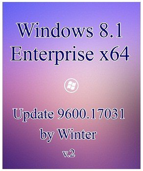 Windows 8.1 Enterprise x64 v.2 Update 9600.17031 by Winter (2014) Русский