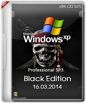 Windows XP Professional х86 SP3 Black Edition (16.03.2014) Русский