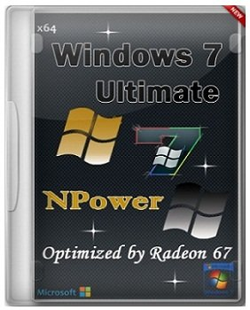 Windows 7 Ultimate x64 SP1 Optimized NPower by Radeon 67 (2014) Русский