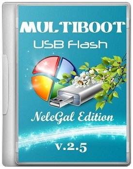 Multiboot USB Flash NeleGal Edition + UEFI v2.5 (2014) �������