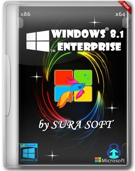 Windows 8.1 Enterprise x86-x64 by SURA SOFT (2014) Русский