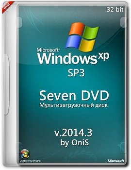 Windows XP SP3 x86 Seven DVD 2014.3 by OniS (2014) Русский