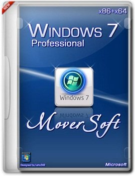 Windows 7 Pro x86-x64 SP1 MoverSoft 04.2014 DVD (2014) Русский
