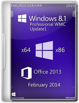 Windows 8.1 Pro WMC U1 x64 Office 2013 DaRT 8.1 Feb (2014) �������