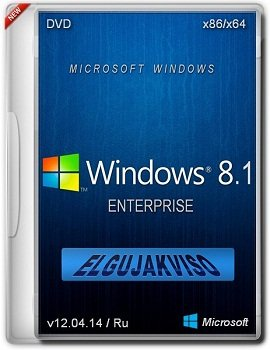 Windows 8.1 Enterprise x86-x64 Elgujakviso Edition (v12.04.14/2014) Русский