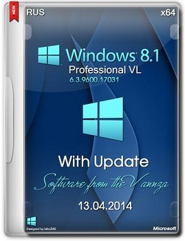 Windows 8.1 Professional VL x64 with Update by Vannza (2014) �������