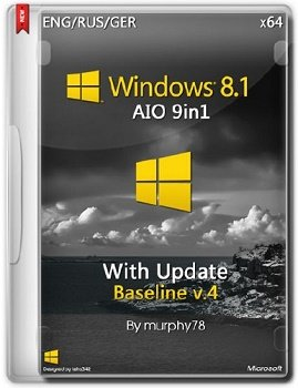 Windows 8.1 x86-x64 with Update AIO Baseline v.4 (2014) Русский