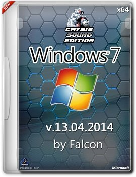Windows 7 SP1 Ultimate x64 by Falcon Crysis Sound Edition v.13.04.14 (2014) Русский