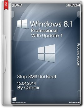 Windows 8.1 Professional x86-x64 with Update By Qmax (2014) Русский