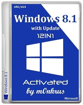 Windows 8.1 -12in1- x86-x64 with Update Activated AIO by m0nkrus (2014) Русский
