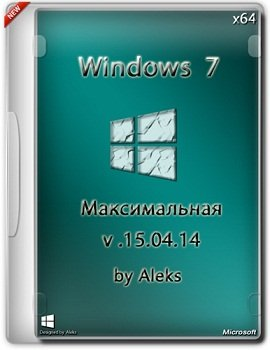 Windows 7 Ultimate x64 v.15.04.14 by Aleks (2014) Русский
