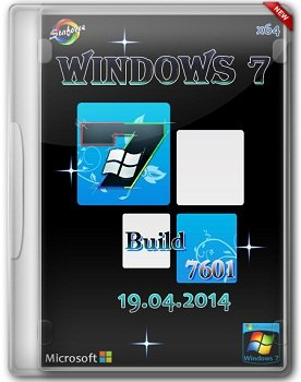 Windows 7 Build 7601 SP1 (RTM) x64 StaforceTEAM (19.04.2014) Русский