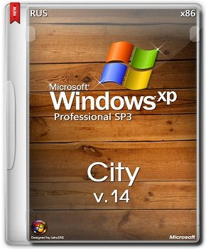 Windows Xp professional x86 City SP3 v14 (2014) Русский