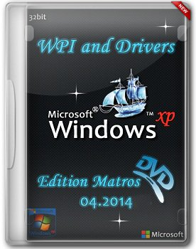Windows XP Professional SP3 x86 WPI and Drivers Matros Edition (04.2014) Русский