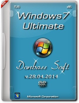 Windows 7 Ultimate SP1 (x86) Donbass Soft (28.04.2014) �������